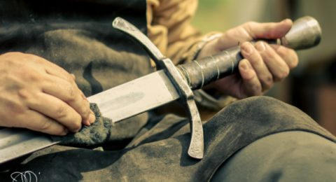 Lager Badische Schwertspieler
