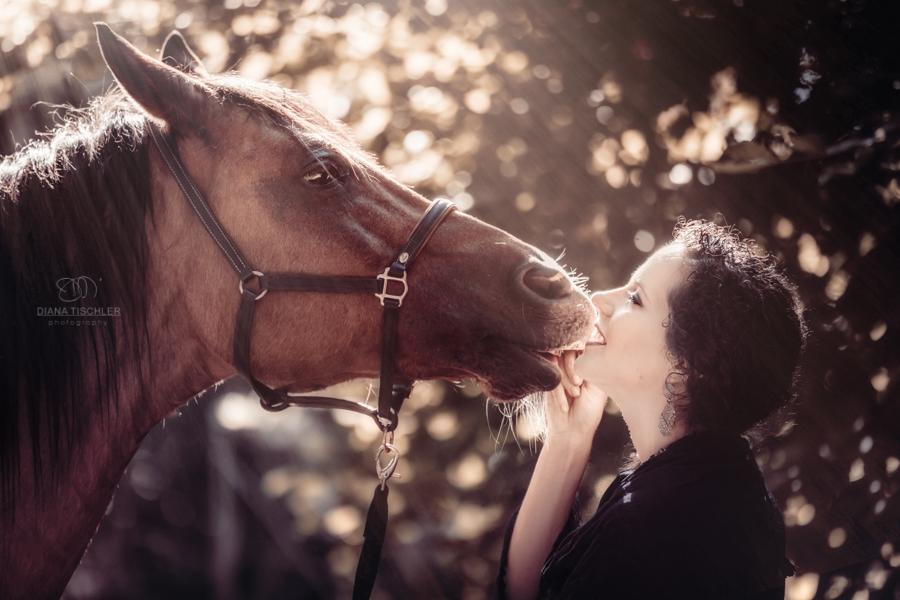 junge-frau-mit-pferd-kuss-im-herbstlicht-fotografin-karlsruhe
